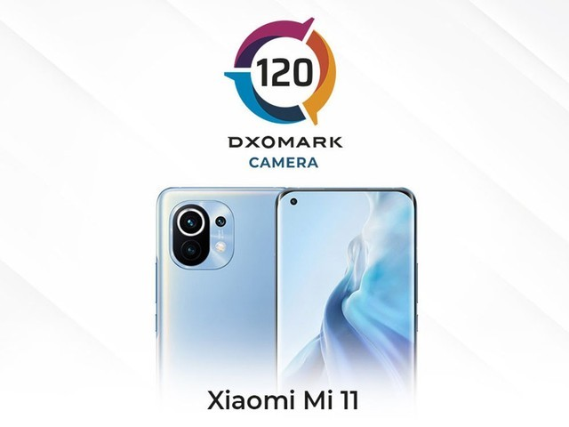 Xiaomi 11 photo in the end how the DXOMARK score is not ideal