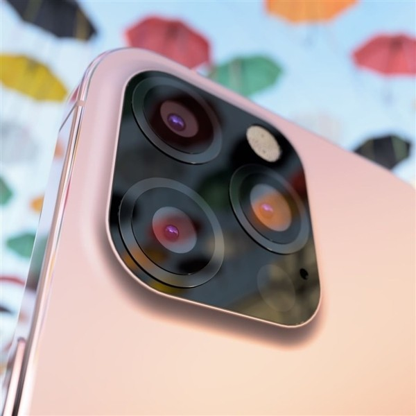 iPhone 12s Pro real machine exposure: new pink color scheme